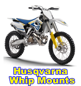 HRF Husqvarna whip mounts
