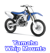 HRF Yamaha whip mounts
